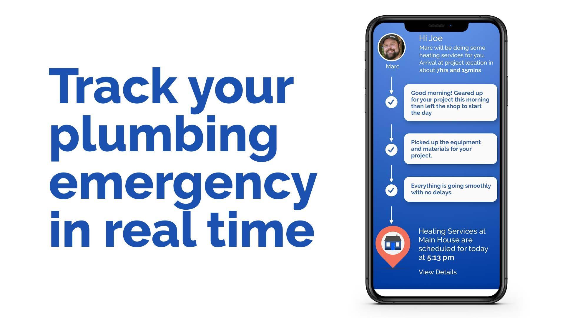 Emergency plumber saratoga springs ny tracker app